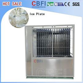 ประเทศจีน 5000kg Capacity Plate Ice Machine , Automatic Ice Machine High Production โรงงาน