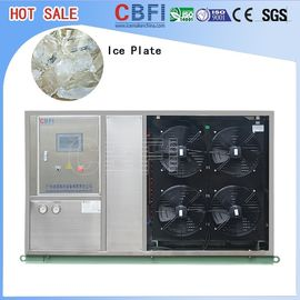 ประเทศจีน Fast Food Shops Plate Ice Making Machine , Household Ice Machine Easy Operation โรงงาน