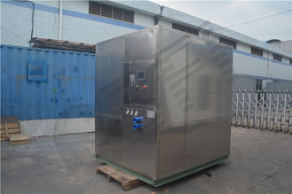 ประเทศจีน Freezing Seafood Meat Plate Ice Machine / Commercial Ice Makers High Output โรงงาน