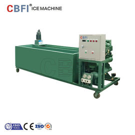 ประเทศจีน 1000Kg - 100000Kg Capacity Ice Block Machine With PLC Controller โรงงาน