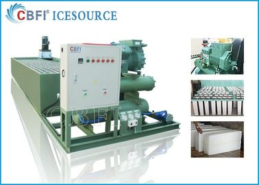 ประเทศจีน Customized Voltage Ice Block Machine With Germany Bitzer Compressor โรงงาน