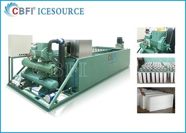 ประเทศจีน Evaporative / Air / Water Cooled Ice Machine , Automatic Ice Machine Large Production โรงงาน
