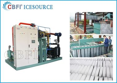 ประเทศจีน 50 tons Large Capacity   Ice Block  Machine  Power Saving with Coil Evaporator Design Saving Power โรงงาน