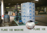 Market Cooling Fish / Vegetable Flake Ice Making Machine Fresh Ice Bitzer Compressor ผู้ผลิต