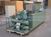 Energy Saving Block Ice Machine Coil Pipe Evaporator with German Bitzer Compressor
