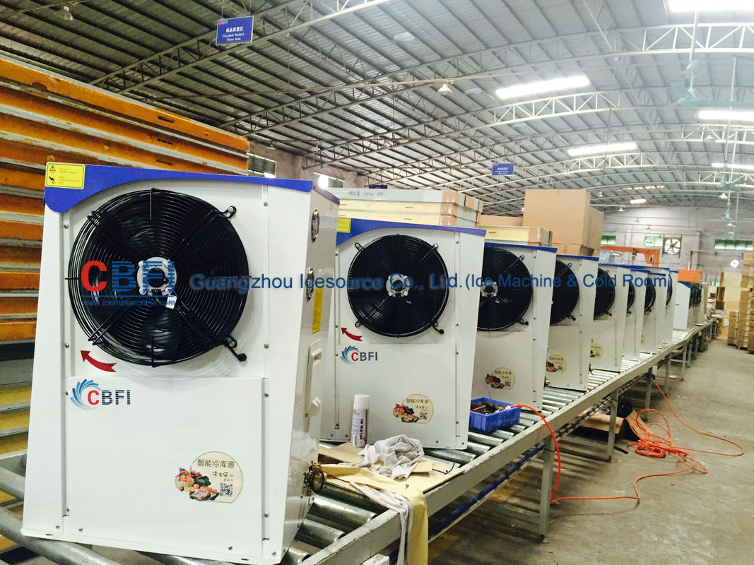 Industrial Blast Chiller / Freezer And Chiller 380V / 50HZ / 3P Or 220V / 60HZ / 3P ผู้ผลิต
