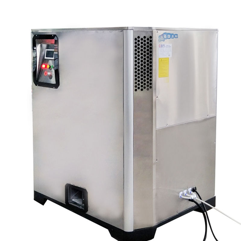 Energy Saving Easy Operate 1 Ton Per 24 Hours Nugget Ice Machine Length 16 To 19mm ผู้ผลิต